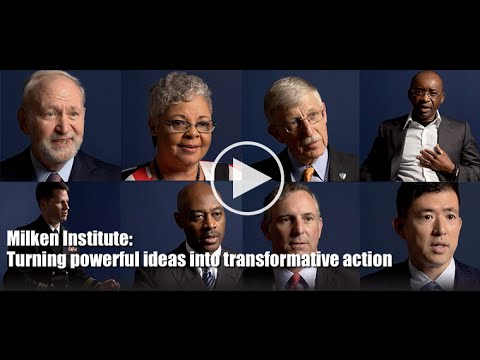 The Milken Institute shares powerful ideas