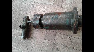 Ремонт гидроцилиндра вариатора барабана с комбайн Енисей