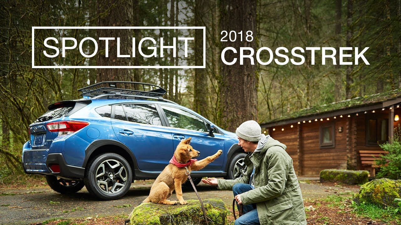 2018 subaru crosstrek white. Fine Crosstrek New 2018 Subaru Crosstrek Spotlight  Puppy Love Inside Subaru Crosstrek White