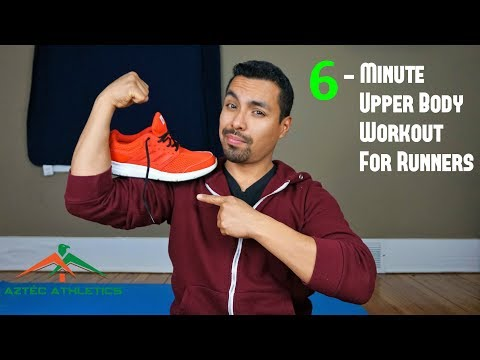 6-MINUTE UPPER BODY WORKOUT FOR RUNNERS✔