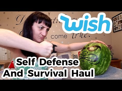 Testing Out Self Defense and Survival Products From WISH