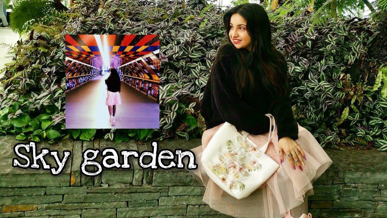 VLOG por Londres / Sky Garden / Mural Camille Walala