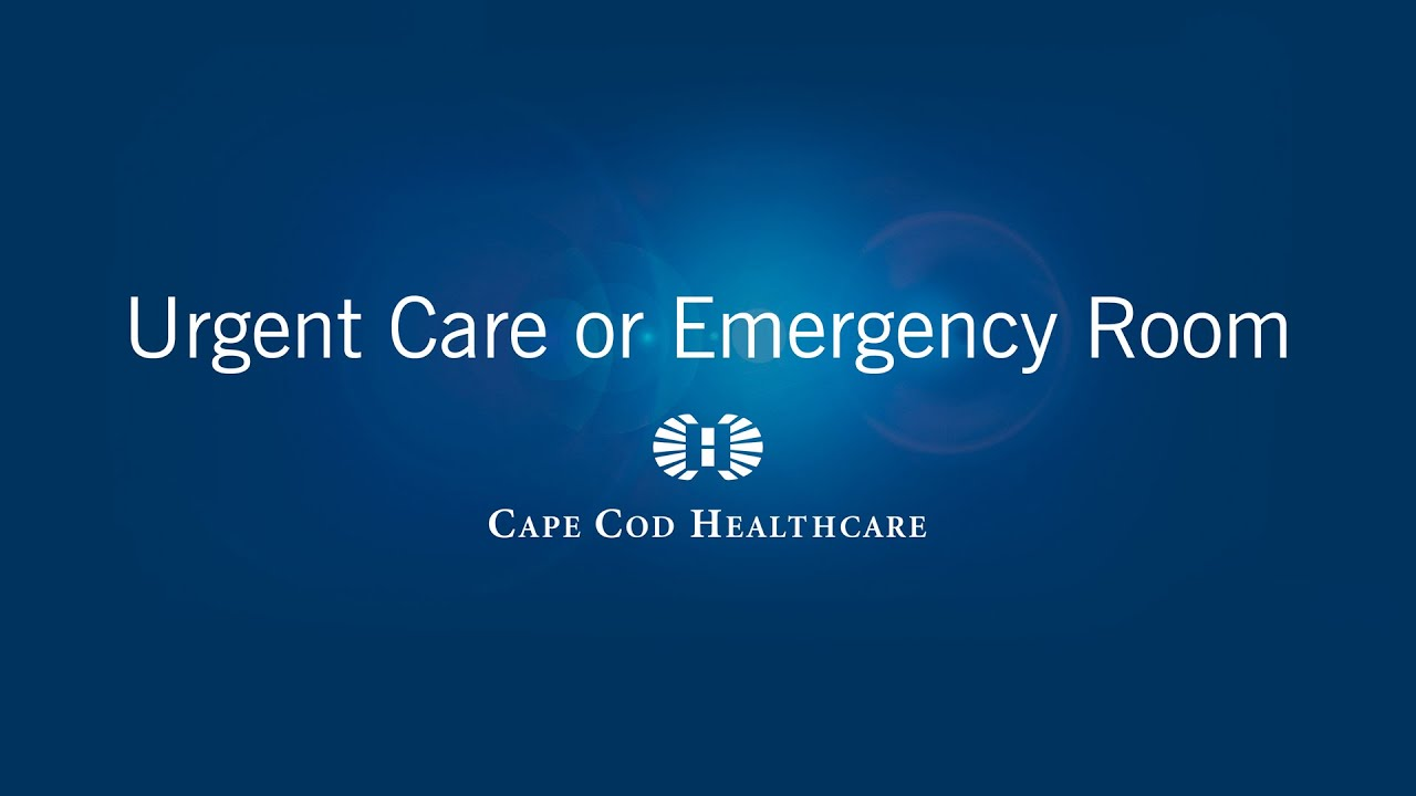 Urgent Care or Emergency Care  YouTube