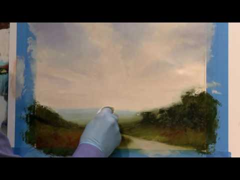 Preview How to Paint Luminous Skies with David Dunlop