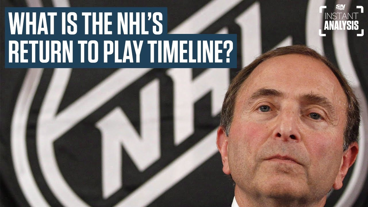 Elliotte Friedman And Chris Johnston On The NHL's Return To Play Timeline | Instant Analysis