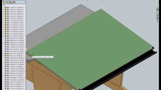 Drafting Table Solidworks Demo