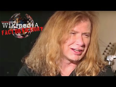 Dave Mustaine - Wikipedia: Fact or Fiction? (Part 1)