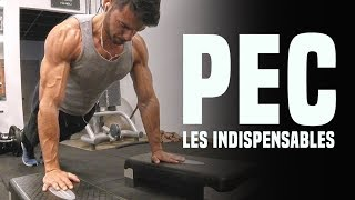 PECTORAUX MUSCULATION MES INDISPENSABLES ( BLESSURE )