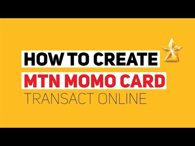 How To Create the MTN Momocard And Transact Online in Uganda