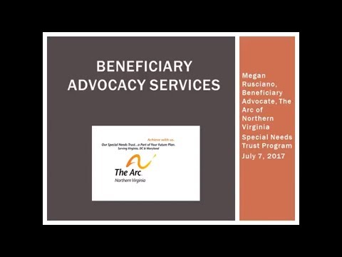 July 2017 - Beneficiary Advocacy Services