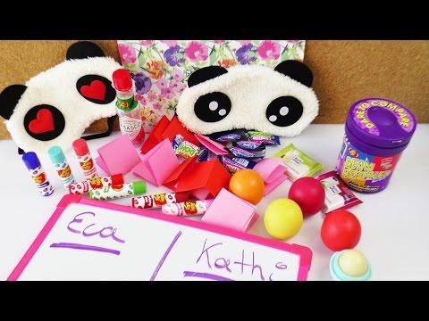 Die MEGA Challenge | NEUES SPIEL mit EOS Lipbalm & Jelly Beans Strafe | Candy & Pandas