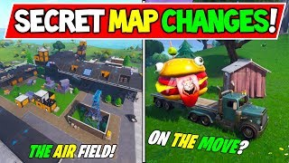 "ALL *NEW* FORTNITE SECRET MAP CHANGES! - ""DURR BURGER 2"" + ""THE 2nd BLOCK""! (Season 7 Storyline)"