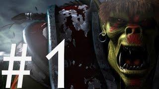Warcraft 3 прохождение #1 (Знакомство с...) (Live)