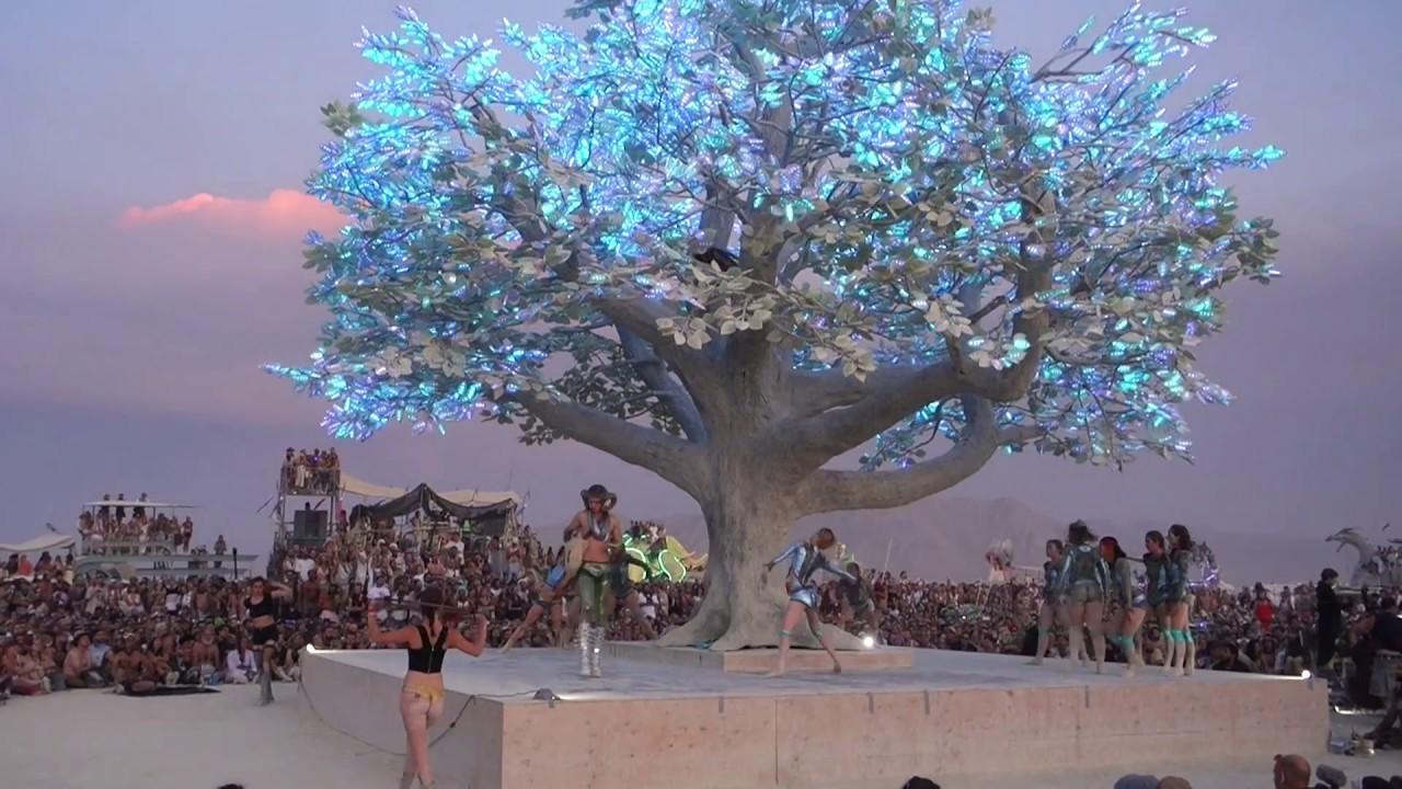 Burner Ballet under the Tree of Tenere  YouTube
