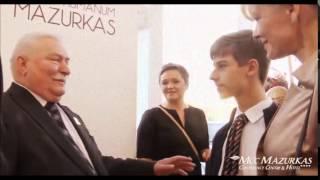 XVIII FH Mazurkas -Prezydent Lech Wałęsa przyjmuje gości z okazji 72 urodzin