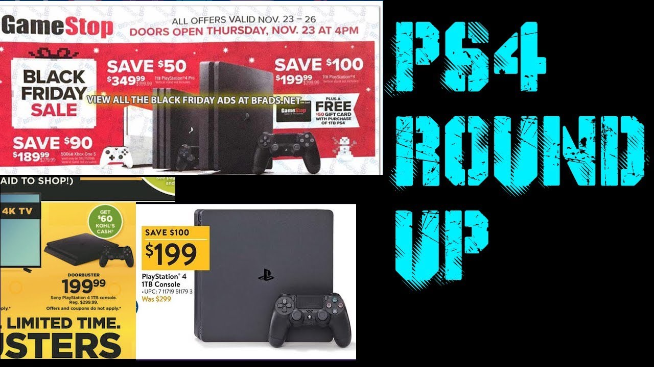 Cheapest Ps4 Ps4 Pro This Black Friday Round Up 2017