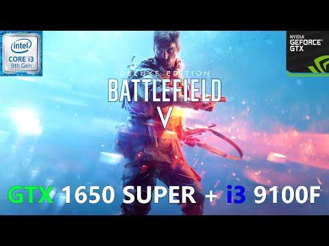 Battlefield V GTX 1650 SUPER + I3 9100F (All Settings Tested)