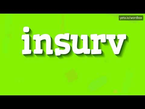 INSURV - HOW TO PRONOUNCE IT!?
