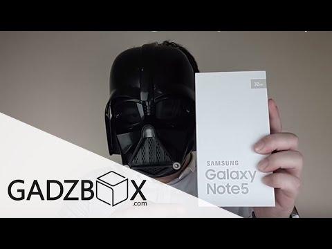แกะกล่อง: Samsung Galaxy Note 5 (32GB) by: GADZBOX