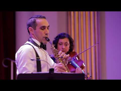 Gershwin 3 Preludes (Prelude 3) for saxophone and string quartet