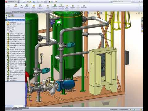 solidworks piping, wiring diagram