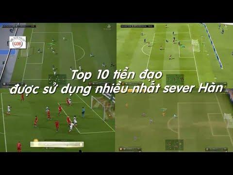 [GOH] Top 10 tiền đạo hay nhất FIFA ONLINE 3, được sử dụng nhiều nhất sever Hàn