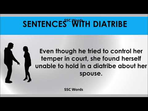 diatribe---improve-english---meaning-and-5-sentences---gre-/-cat-/-gmat-word---ssc-words