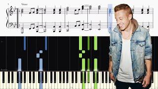 Macklemore - Glorious (feat. Skylar Grey) - Piano Tutorial + SHEETS