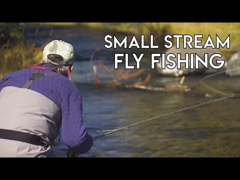 Fly Fishing Small Streams   How To