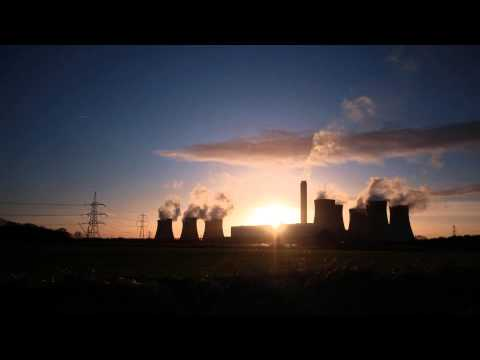 Drax power station time lapse