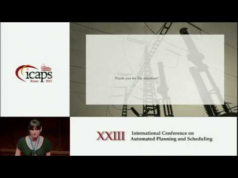 ICAPS 2013: Chiara Piacentini (Novel Applications Track, Best Student Paper) - Combining a Temporal