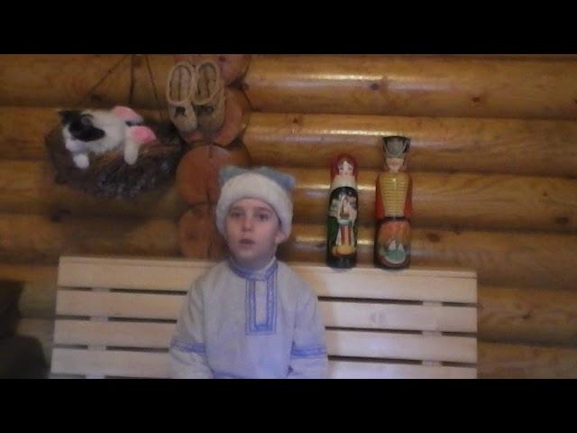 Изображение предпросмотра прочтения – АртёмХворых читает произведение «Небылица в лицах» (Русский фольклор )
