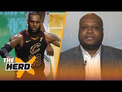 Antoine Walker on LeBron's GM 1 strategy, Talks where LeBron will land next season | NBA | THE HERD