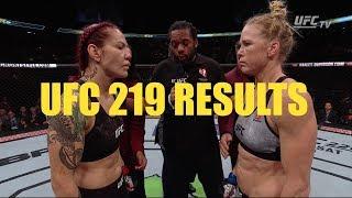 Video UFC 219: Cris Cyborg vs Holly Holm Results download MP3, 3GP, MP4, WEBM, AVI, FLV September 2018