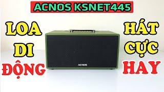 Loa kéo Acnos KSNET445 hát karaoke cực kỳ HAY-Tích hợp dàn âm thanh Hi-fi di động!!