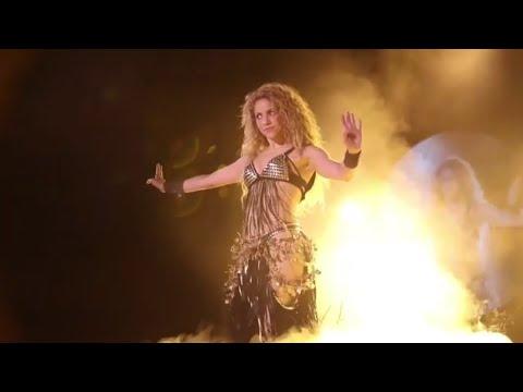 Un símbolo utilizado por los nazis se cuela en la última gira de Shakira