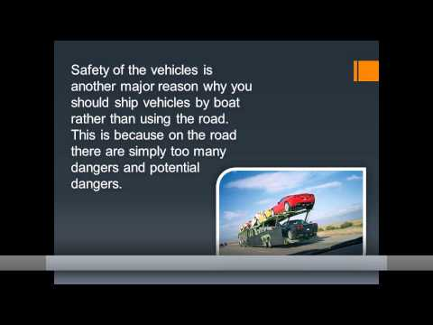 Advantages of shipping vehicles interstate by ship