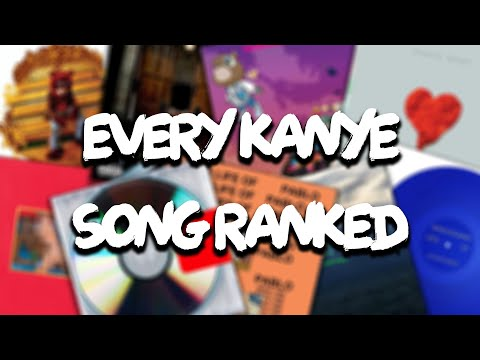 Ranking Every Kanye West Song