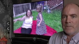видео Samsung UE55KU6470U 4K Ultra HD телевизор