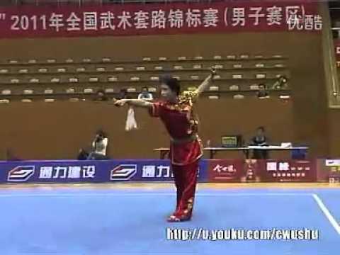 2011 National Wushu Championships - Jianshu (Men) - 001.flv