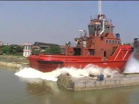 Launching for 4400BHP MPP ASD Tug