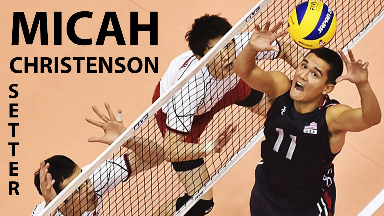 Awesome Micah Christenson The Best Volleyball Setter In The World 2016 Youtube