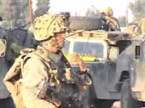 Operation Phantom Fury aka Al Fajr. Iraq music video (Seether)