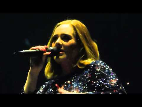 Adele - Chasing Pavements - Live @ 02 Arena London 18.03.16 HD