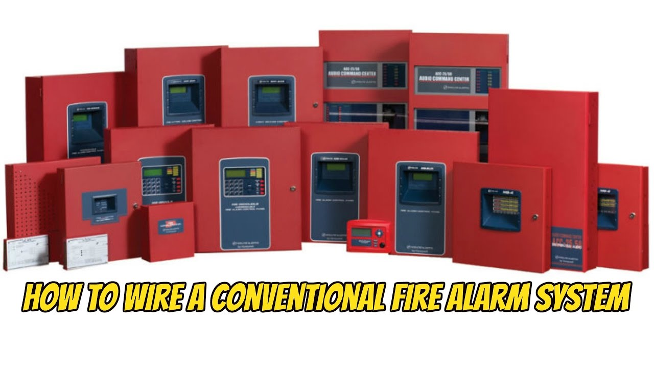 maxresdefault how to wire up a fire lite ms 2 or ms 4 coventional fire alarm Fire Lite by Honeywell at fashall.co