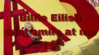 Billie Eilish- dont smile at me LP