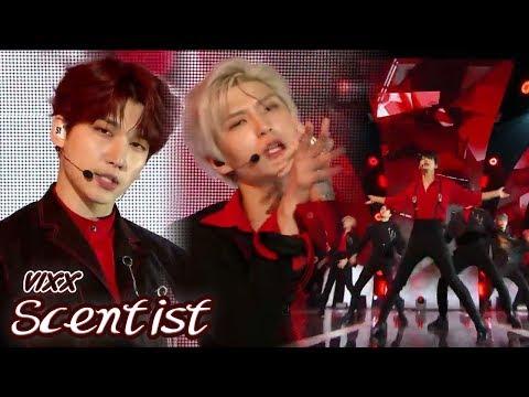 [HOT] VIXX - Scentist, 빅스 - 향 Show Music Core 20180428