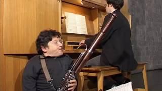 Basson & Orgue: Jean-Michel Alhaits & Jean-Pierre Rolland:Bach: Sonate en Ré Maj