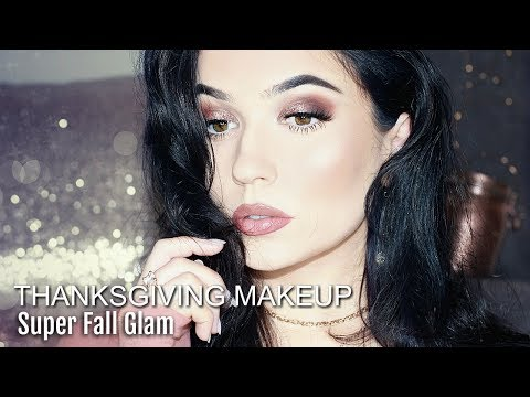 Fall Glam Makeup Tutorial For Thanksgiving  Themakeupchair