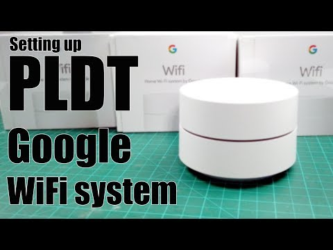 PLDT Google WiFi (unboxing and setting up) - YouTube